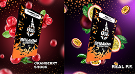 Новые вкусы Burn Black: Cranberry Shock и Real P.F.