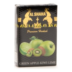 Табак Al Shaha - Green Apple Kiwi Lime (Яблоко, Киви и Лайм, 50 грамм)