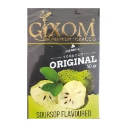 Табак Gixom - Soursop (Саусеп, 50 грамм)