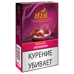 Табак Afzal - Strawberry (Клубника, 40 грамм)