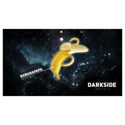 Табак Dark Side Soft - BANANAPAPA (Банан, 100 грамм)
