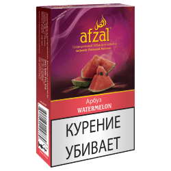 Табак Afzal - Watermelon (Арбуз, 40 грамм)