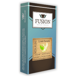 Табак Fusion Medium - Green Banana (Зеленый Банан, 100 грамм)