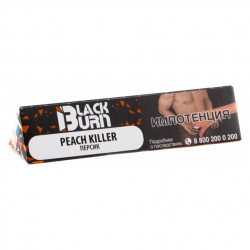 Табак Burn Black - Peach killer (Персик, 20 грамм)