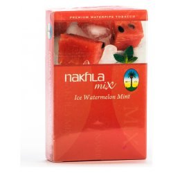 Табак El Nakhla Mix Ice - Арбуз и мята  (Ice Watermelon Mint) (50 грамм)