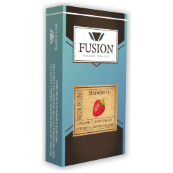 Табак Fusion Medium - Strawberry (Клубника, 100 грамм)