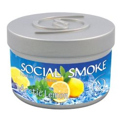 Табак Social Smoke - Arctic Lemon (Арктический Лимон, 250 грамм)