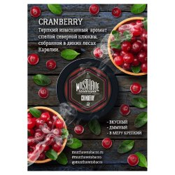 Табак Must Have - Cranberry (Клюква, 125 грамм)