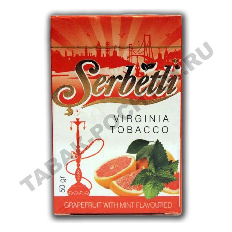 Табак Serbetli - Grapefruit Mint (Грейпфрут с Мятой, 50 грамм)