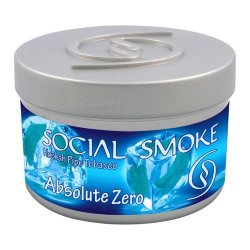 Табак Social Smoke - Absolute Zero (Абсолютный Ноль, 250 грамм)