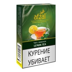 Табак Afzal - Lemon Tea (Чай с Лимоном, 50 грамм)