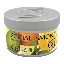 Табак Social Smoke - Citrus Chill (Цитрусы, 250 грамм)