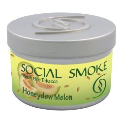 Табак Social Smoke - Honeydew Melon (Медовая Дыня, 250 грамм)