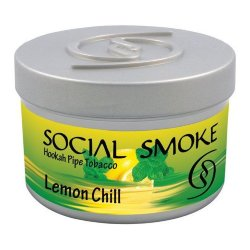 Табак Social Smoke - Lemon Chill (Лимон Чили, 250 грамм)