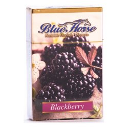 Табак Blue Horse - Blackberry (Ежевика, 50 грамм)