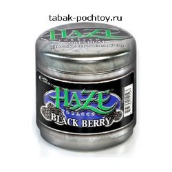 Табак Haze - Black Berry (Ежевика, 100 грамм)