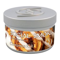 Табак Social Smoke - Cinnamon Roll (Коричный Ролл, 250 грамм)