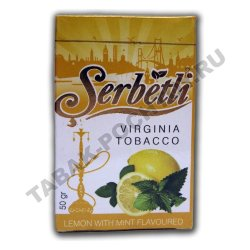 Serbetli - Lemon with Mint (Лимон с Мятой, 50 грамм)