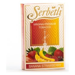 Табак Serbetli - Banana Strawberry (Банан и Клубника, 50 грамм)