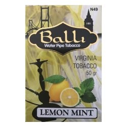 Табак Balli - Lemon Mint (Лимон и Мята, 50 грамм)