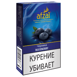 Табак Afzal - Blueberry (Черника, 40 грамм)