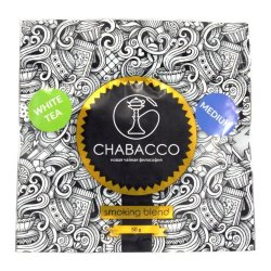 Смесь Chabacco Medium - White tea (Белый чай, 50 грамм)