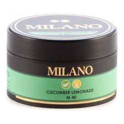 Табак Milano - Cucumber Lemonade M40 (Огуречный Лимонад, 100 грамм)