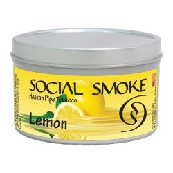 Табак Social Smoke - Lemon (Лимон, 250 грамм)