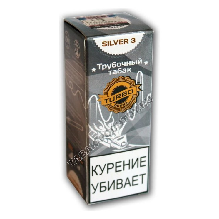 Табак Turbo Dokha - Silver 3 купить в России