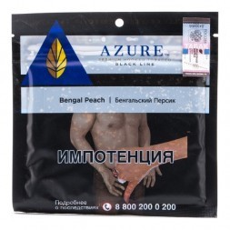 Табак Azure Black - Bengal Peach (Бенгальский Персик, 100 грамм)