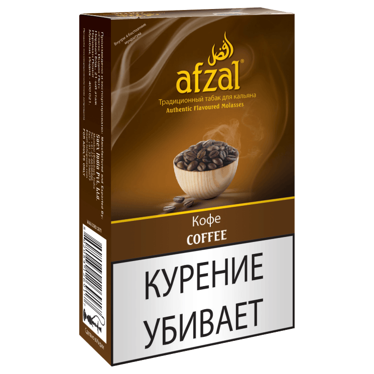 Табак Afzal - Coffee (Кофе, 40 грамм)