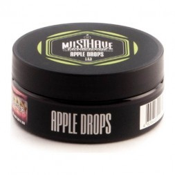 Табак Must Have - Apple Drops (Яблочные Леденцы, 125 грамм)