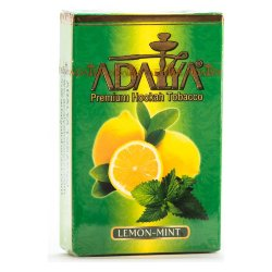 Табак Adalya - Lemon Mint (Лимон с мятой, 50 грамм)