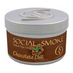 Табак Social Smoke - Chocolate Chill (Шоколад с Мятой, 250 грамм)