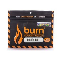 Табак Burn - Golden Rum (Золотой Ром, 100 грамм)