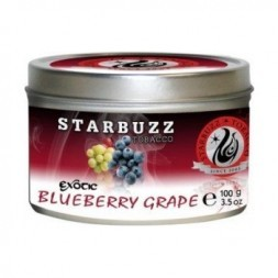Табак Starbuzz - Blueberry Grape (Черника и Виноград, 100 грамм)