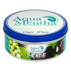 Табак Aqua Mentha - Aqua Grape (Аква Виноград, 250 грамм)