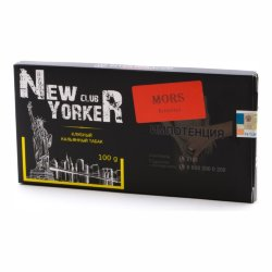 Табак New Yorker Red - Mors (Клюква, 100 грамм)