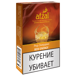 Табак Afzal - Red Energy (Ред энерджи, 40 грамм)